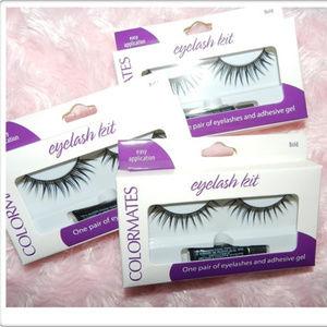 5x NIB ColorMates Eyelash ~ Kits New& Sealed!
